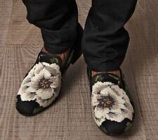 Alexander McQueen Men's Cross-Stitch Flower Loafers size 41 $795