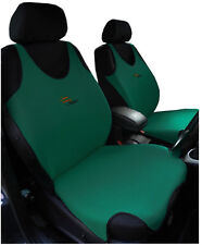 2 DARK GREEN FRONT VEST  CAR SEAT COVERS FOR  KIA SPORTAGE