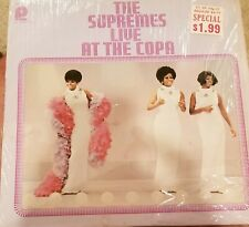 The Supremes Live At The Copa 1965 Vinyl VG+/VG
