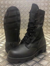 Women's Combat Leather Lace Up Boots