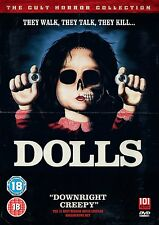 Dolls - DVD NEW & SEALED - Cult Horror