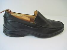 Sperry Gold Cup Collection Black Leather Loafer Moccasins Shoes 8.5 M