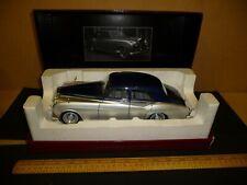 Minichamps 1/18 Rolls Royce Silver Cloud II ( 1960 ) Blue over Silver