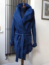 New Designer STROM Women's clothing denim parka jacket coat size M uk 10/12.£380