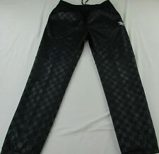 Umbro Men's Black Checkered Sweatpants