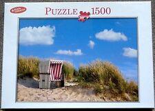 """* PUZZLE  1500 pièces  """"  La PLAGE...AUTREMENT  """"  NEUF!"""