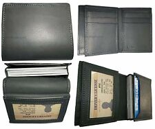 Card case. Women/men's Leather Business Credit Card ID card Holder Sixty card BN