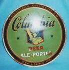VINTAGE COLUMBIA BEER TRAY COLUMBIA PA