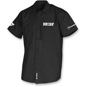 Throttle Threads Vance & Hines Shop Shirt (Black) Choose Size