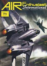 AIR ENTHUSIAST INTERNATIONAL MAGAZINE 1974 JAN - DOGFIGHTER SUPREME: THE TOMCAT