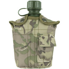MFH 1L MILITARY WATER BOTTLE ARMY CANTEEN TRAVEL HYDRATION OPERATION CAMO COVER