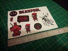 Deadpool Sticker Set
