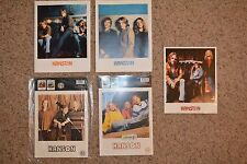 Lot of 9 Hanson 8x10 Photos- Official Hanson Product- New Factory Sealed w/ Tags