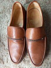 Men's shoe, Grenson brown moccasin size 9