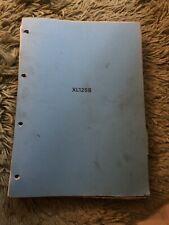 Honda XL125S,A Rare Honda Dealers Manual,factory Manual,Honda Service,honda 125.