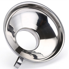 Stainless Steel Wide Mouth Funnel Canning Jar Cup Hopper Filter Kitchen Supply