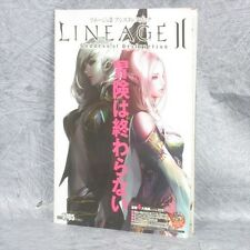 LINEAGE II 2 Assistance Book Game Guide JUNO JEONG Art PC 43*
