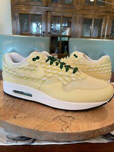 "NEW WITHOUT BOX Nike Air Max 1 Premium ""Lemonade"" Men's Shoes CZ8138 100 Size 14"
