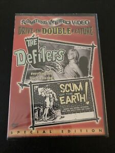Something Weird Video The Defilers / Scum of the Earth DVD Sealed