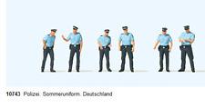 Preiser 10743 Polizei in Sommeruniform H0 1:87