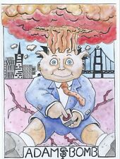 Garbage Pail Kids Adam Bomb San Francisco 4x7 TOY EXPO 2018 Clinton Yeager 1/1