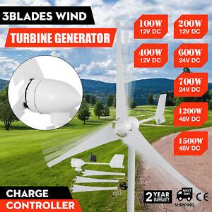 VEVOR 12-48V 3 Lames Générateur de Vent Eolienne Turbine Generator Wind Turbine