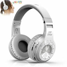 Wireless Overear Bluetooth Stereo Headsets Earbuds w/ Mic For DJ Driver Business