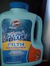 Clorox Pool & Spa Xtra Blue Filth Destroyer 7 lbs 50007Clx Cleaner Gr