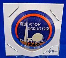 "1940 New York World's Fair Pin Pinback Button 1 1/4"""