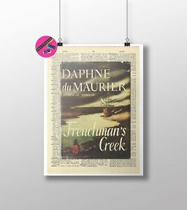 Daphne Du Maurier, Frenchman's Creek, 1st Edition Dictionary Print, Gift, Poster