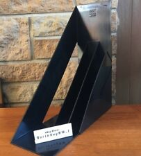 Heller Design Giotto Stoppino LP Record Vinyl Album Holder Rack Storage (BLACK)