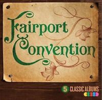 5 Classic Albums : Fairport Convention NEW CD Album (5364540     )
