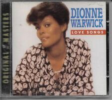 Love Songs by Dionne Warwick (CD, Jan-1994, Warner Bros.)