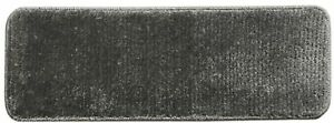 9 in. x 26 in. Stair Tread Cover w/ Non-Slip Rubber Back Shaggy, Gray(Set of 14)