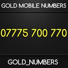 GOLD 0777 GOLDEN EASY VIP DIAMOND PLATINUM 0777 MOBILE NUMBER 07775700770