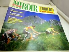 Guide Du Tour 87 magazine France  Cycling mirror no. 397 Juillet 1987