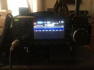 Icom Ic-7300 100W HF Touch Screen Transceiver -W/ Power Supply, Cords, Speaker