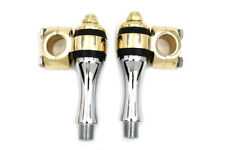 FLANDERS RISER KIT, CHROME AND BRASS VTWIN 25-0984