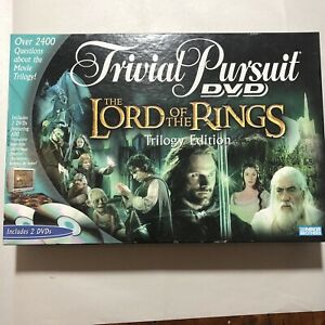 Trivial Pursuit DVD The Lord Of The Rings Trilogy Edition 2004