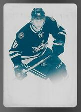 15/16 Upper Deck Trilogy #29 Jason Spezza Cyan Printing Plate #1/1  1 OF 1