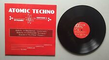 Ref588 Vinyle 33 Tours Atomic Techno 5 Big Bang / Hypnose / FlyTox