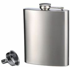 Home Bar Essentials Top Shelf Flask Stainless Steel Flask8 Oz