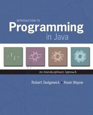 Introduction to Programming in Java : An Interdisciplinary Approach by Robert Se