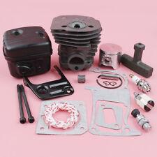 Cylinder Piston Exhaust Muffler For Husqvarna 350 351 353 346XP Tune-up Kit 44mm
