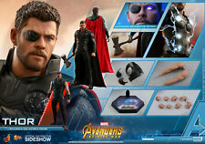 Hot Toys Thor Infinity War Avengers Chris Hemsworth 1/6 Figure New Double Boxed