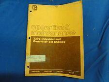 CAT Caterpillar Maintenance Manual 3208 Industrial Generator set Engines 1985