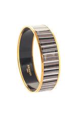 Hermes Multi-Color Wide Enamel Bangle Bracelet