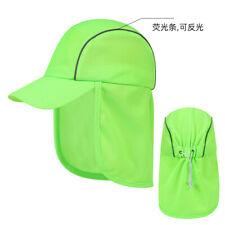 New type UPF 50+Sun Hat Visor Cap Adjustable Wide Brim Fishing Hat Neck Flap