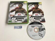 Knockout Kings 2002 - Microsoft Xbox - PAL FR - Avec Notice