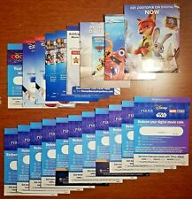 New ListingDisney Pixar Digital 4K/Hd Movie Codes (Toy Story, Nemo, Cars, Monsters, more)